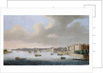 The Thames from Somerset House, c.1650 by Cornelius Bol