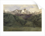 Bavarian Highlands, 1852 by Carl Haag
