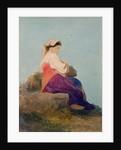'Una Chiochiara', study of an Italian peasant girl by Carl Haag