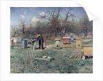 A Spring Day, or Beehives, 1899 by Sergei Ivanovich Svetoslavsky