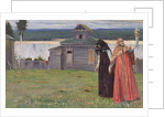 In a Secluded Monastery, 1915 by Mikhail Vasilievich Nesterov