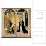 St. Catherine of Siena Dictating Her Dialogues, c.1447-61 by Giovanni di Paolo di Grazia
