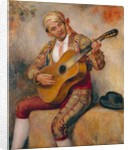 The Spanish Guitarist, 1894 by Pierre Auguste Renoir