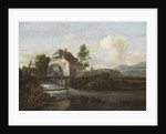 Landscape with a Watermill, c.1680 by Jacob Isaaksz. or Isaacksz. van Ruisdael