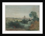 Saint Peter's seen from the Campagna, c.1850 by George Snr. Inness