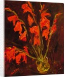 Red Gladioli, c.1919 by Chaim Soutine