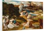 Lot and His Daughters, 1523 by Jan Wellens de Cock