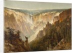 The Grand Canyon of the Yellowstone, c.1884 by Thomas Hill