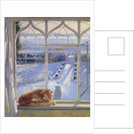 Sundial and Cat by Timothy Easton