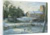 The Frozen Moat, Bedfield by Timothy Easton