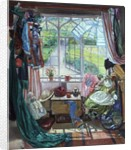 Inspection of nylon hosiery by Timothy Easton