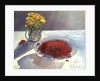 Still Life with Redcurrants and Marigolds by Timothy Easton