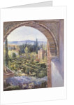Alhambra Gardens by Timothy Easton