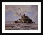 Mont Saint-Michel, North-east Side, 1881 by Emmanuel Lansyer