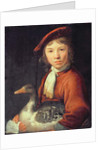 Boy with a Goose by Jacob Gerritsz Cuyp