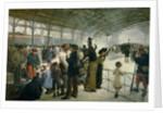 The Departure, Gare D'Austerlitz, Paris, 1883 by Paul Louis Delance