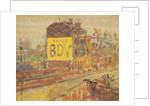 Hampstead Road, c.1910-11 by Harold Gilman