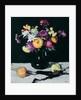 Still Life with Chrysanthemums against Black, c.1912 by Samuel John Peploe