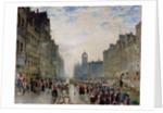 The High Street, Edinburgh by Samuel Bough
