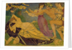 Study for Bacchus and Ariadne, c.1912 by Joseph Edward Southall