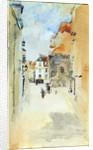 Street Scene, c.1888 by James Abbott McNeill Whistler