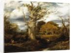 A wood scene, 1844 by John Linnell