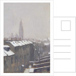 Duke Street under Snow, Edinburgh, 1870 by George Reid