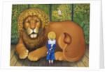 The Lion and Albert, 2001 by Frances Broomfield