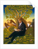 Keats and the Nightingale, 2002 by Frances Broomfield