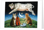 The Cat and the Fiddle, 2004 by Frances Broomfield