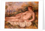 The Reclining Bather 1906 by Pierre Auguste Renoir
