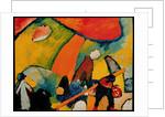 On the Beach, 1909 by Wassily Kandinsky