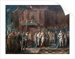 Gustav I's Farewell Speech to the Estates by Nils Hagelberg
