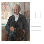 Portrait of the poet Zachris Topelius by Albert Gustaf Aristides Edelfelt