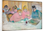 These Ladies in the Refectory, 1893-94 by Henri de Toulouse-Lautrec