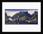 Decor for the ballet The Rite of Spring by Igor Stravinsky, 1945 by Nicholas Roerich