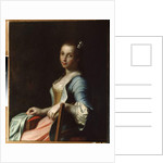 The Embroideress by Pietro Antonio Rotari