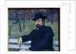 Portrait of the Painter Nikolai Alexandrovich Yaroshenko, 1897 by Mikhail Vasilievich Nesterov