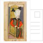 Portrait of Mehmed IV, Sultan of the Ottoman Empire by Ottoman School