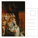 Wing of a Diptych with the Souls of the Just and a Donor, c.1520 by Jan Mostaert