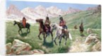 In the Cheyenne Country, 1896 by John Hauser