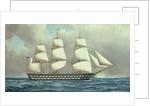 U.S. Ship of the Line, c.1916 by Antonio Jacobson