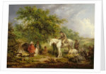 Morning, or the Benevolent Sportsman, 1792 by George Morland