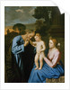 The Holy Family by Il Sassoferrato
