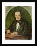 Portrait of Wilkie Collins 1853 by Charles Alston Collins