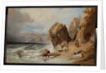 Coast scene near Genoa, 1846 by William Clarkson Stanfield