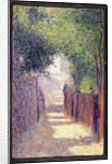 Rue St. Vincent in Spring, c.1884 by Georges Pierre Seurat