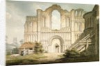 PD.56-1958 West front of Castle Acre Priory Church, near Downham, Norfolk, 1796 by Edward Dayes