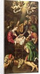 The Adoration of the Shepherds, c.1620 by Luis Tristan de Escamilla