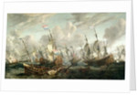The Four Day's Battle, 1-4 June 1666 by Abraham Storck